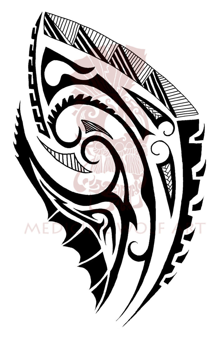 maori shoulder by fergie85 on deviantart. Black Bedroom Furniture Sets. Home Design Ideas