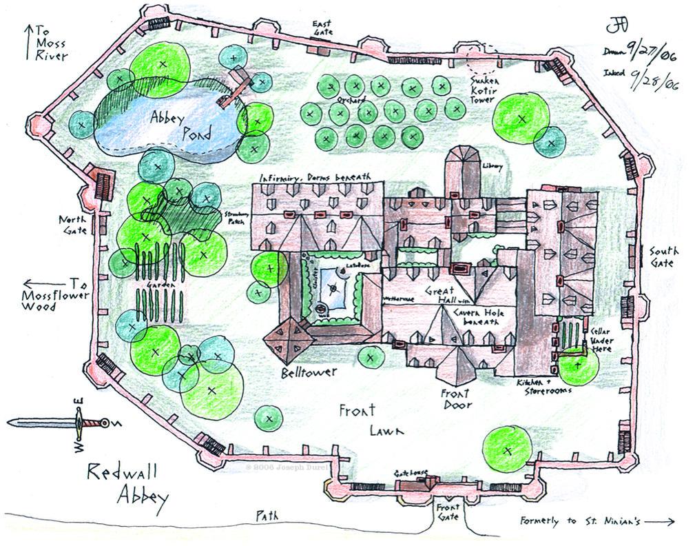 Redwall Abbey by JadeMatrix