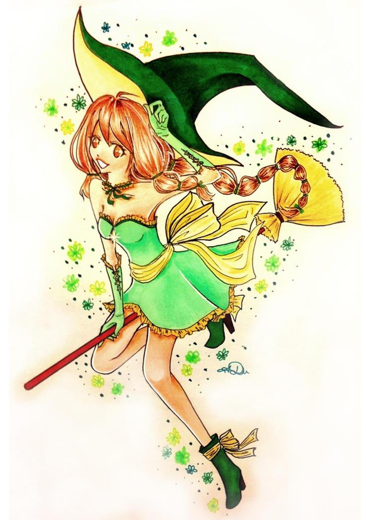 Contest entry: Witch Natzuko by Kukaruz
