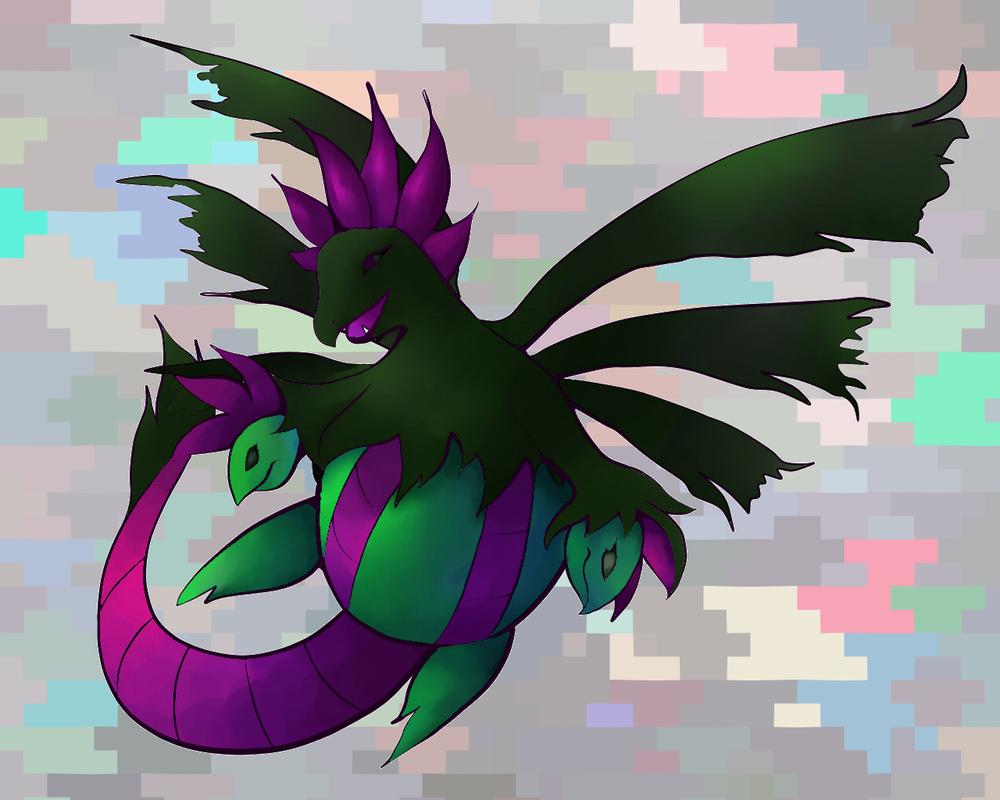 Pokemon Shiny Hydreigon Images | Pokemon Images