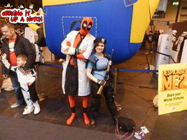 Then Jill Meets Umbrella Deadpool