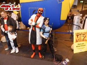 Then Jill Meets Umbrella Deadpool