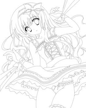 DOLL -Lineart-