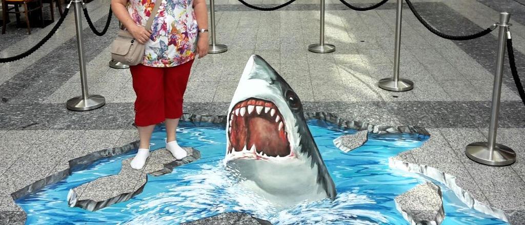 chalk shark by TeddyXG