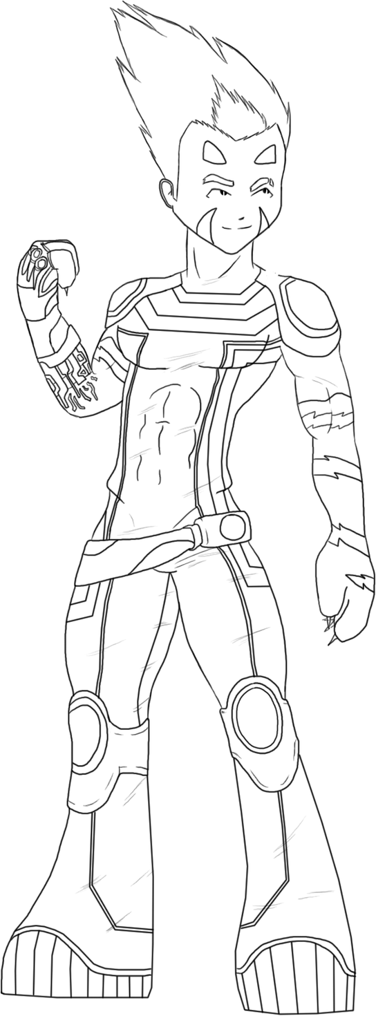 code lyoko coloring pages - photo#26