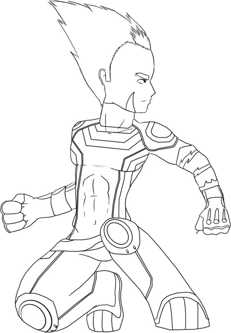 code lyoko coloring pages - photo#30