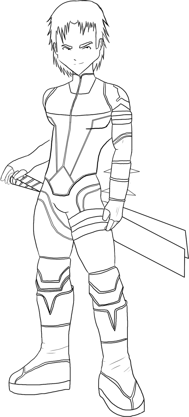 code lyoko coloring pages - photo#23