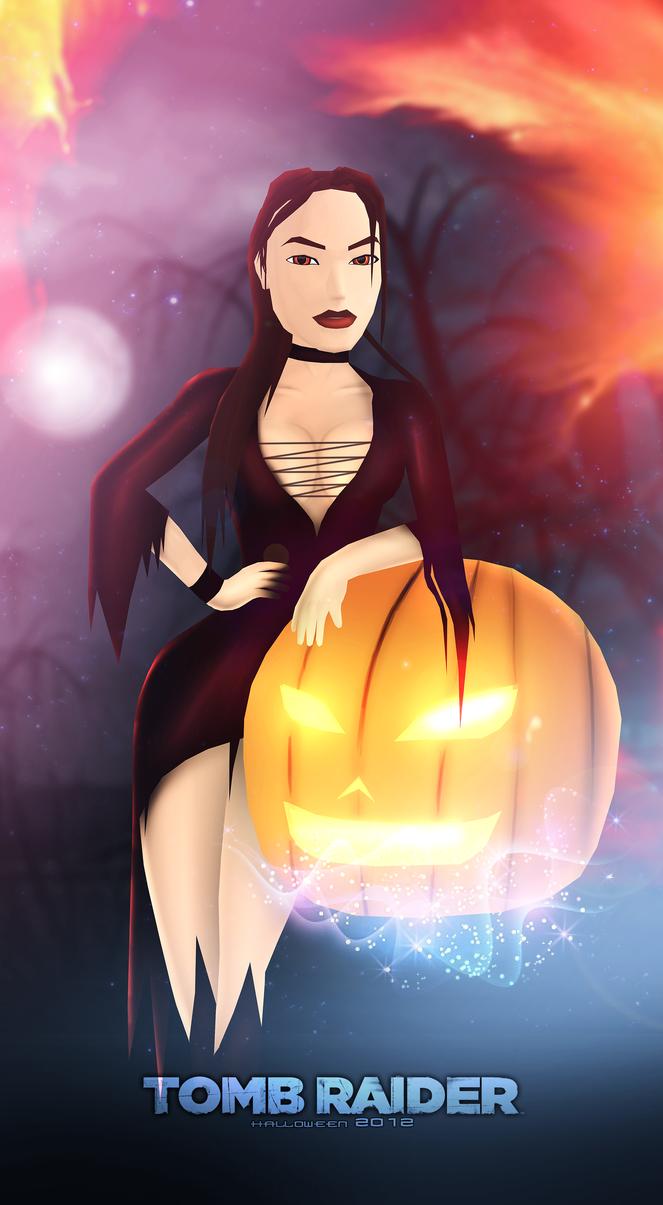 Tomb Raider - Halloween 2012 by FearEffectInferno