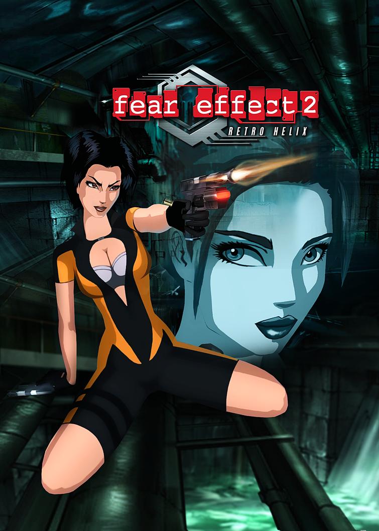 Fear Effect Retro Helix - Photoshop Poster by FearEffectInferno