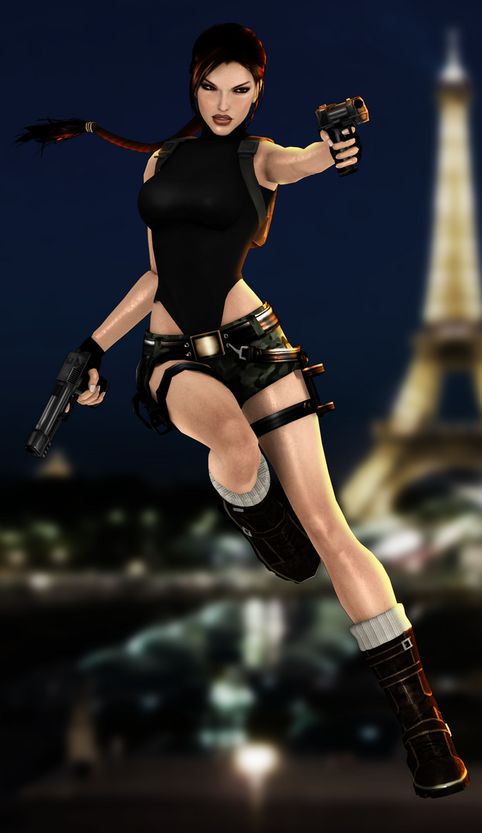 Xna Lara - Paris by FearEffectInferno