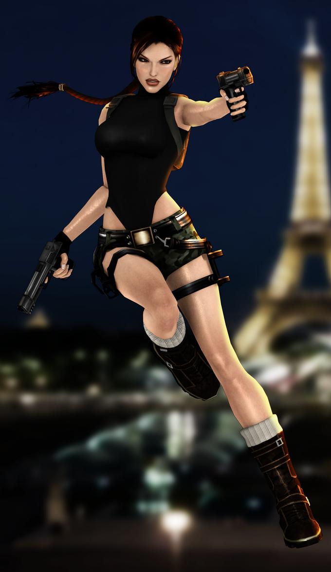 Xna Lara - Paris by FearEffectInferno