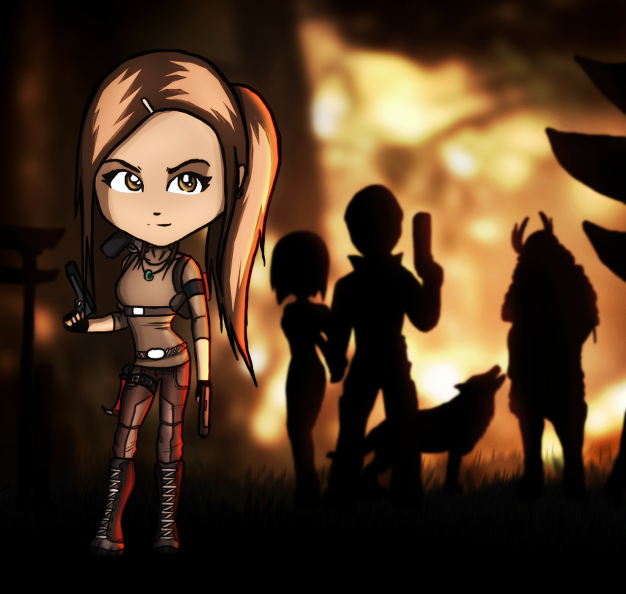 Survivor - Lara Croft Tomb Raider by FearEffectInferno