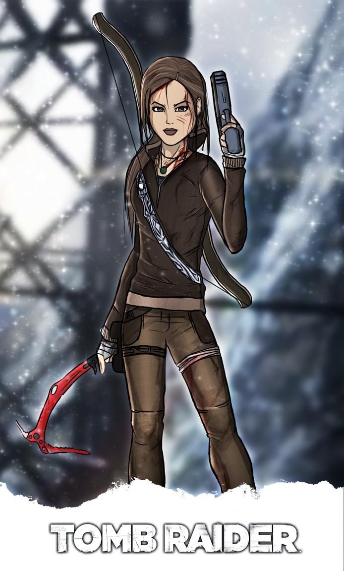Tomb Raider - AVIATRIX Skin by FearEffectInferno