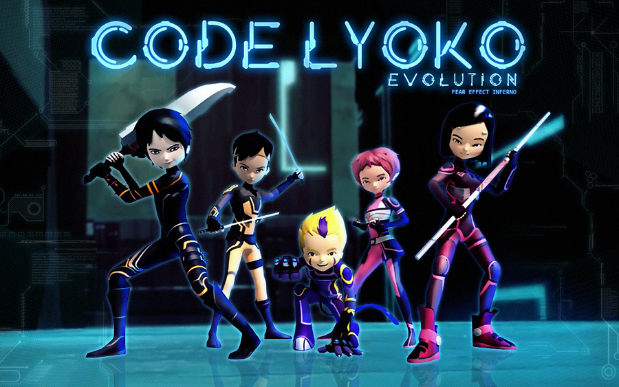 Code Lyoko Evolution Wallpaper