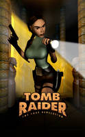 Tomb Raider IV - Unofficial Poster by LitoPerezito