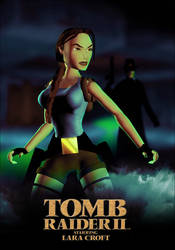 Tomb Raider II - Unofficial Poster by LitoPerezito