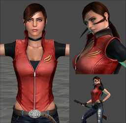 XNA LARA - Claire Redfield V2.0 [ Download] by LitoPerezito