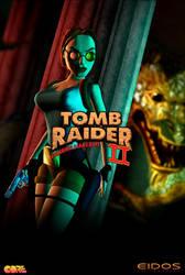 Tomb Raider II - Dagger of Xian Poster by LitoPerezito