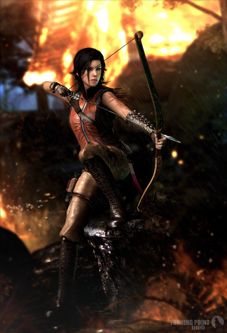 Tomb Raider - XNA Unofficial Poster by FearEffectInferno