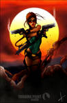 Lara Croft Tomb Raider Fan Art