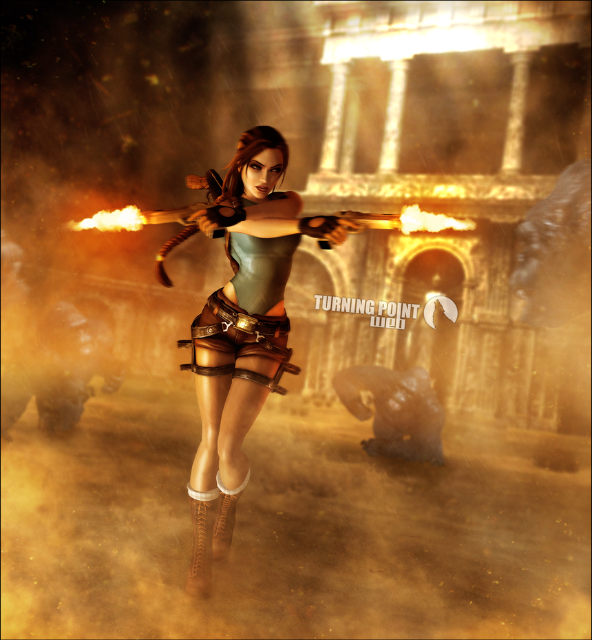 Tomb Rider Wallpaper: Lara Croft Tomb Raider Anniversary Render By FearEffectInferno
