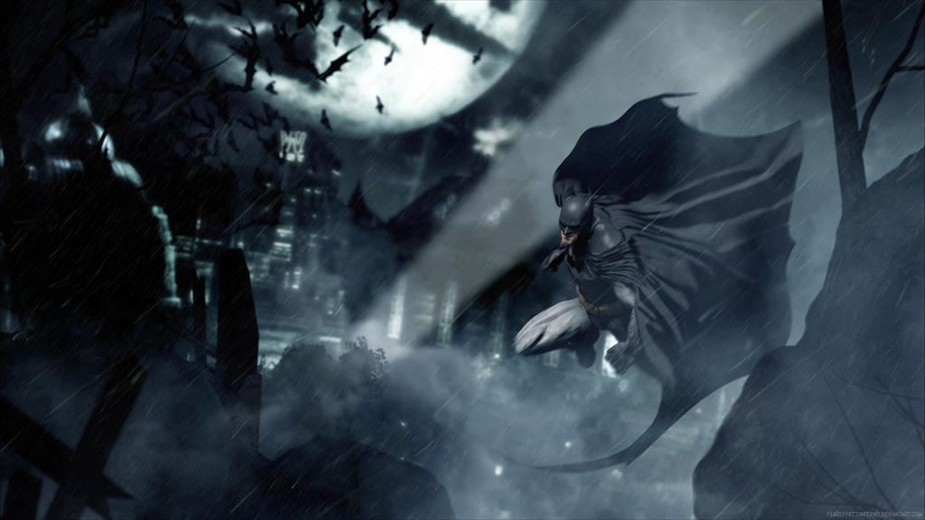 Turning Point Web - Batman Arkham Asylum by FearEffectInferno