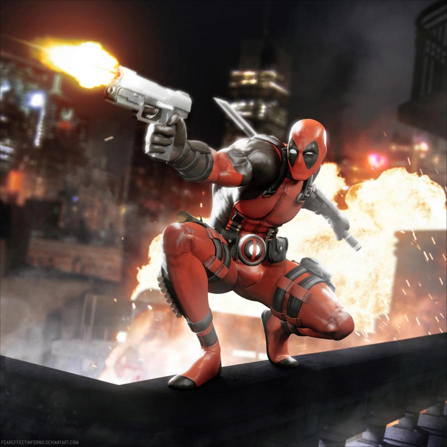 Turning Point Web - Deadpool Render by FearEffectInferno