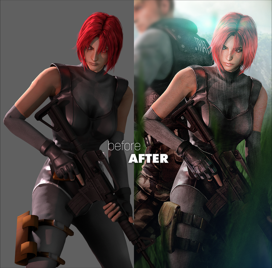 Dino Crisis Returns (Before After) by FearEffectInferno