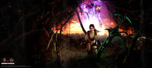 20 years of Tomb Raider - The Entity by LitoPerezito