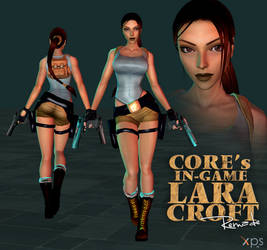 Core's In-Game Lara Croft Remade Model for XPS by LitoPerezito