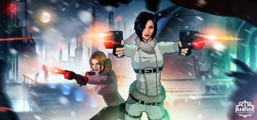 Fear Effect Sedna - Official Render by LitoPerezito