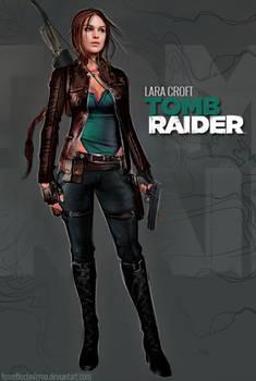 My version of Reboot Lara Croft