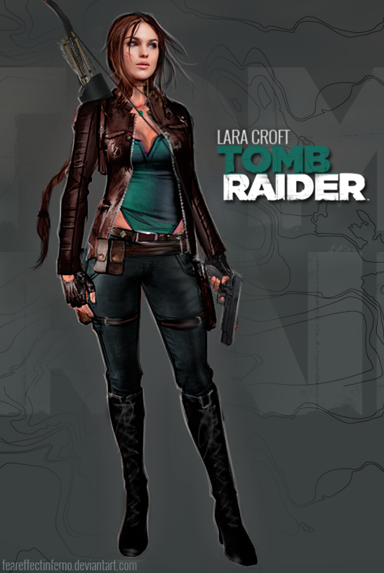 My version of Reboot Lara Croft by FearEffectInferno on ...