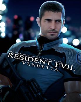 Resident Evil Vendetta - Chris Redfield by LitoPerezito