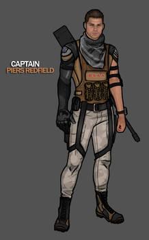 Captain Piers Redfield