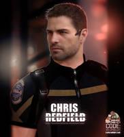 Chris Redfield Render by LitoPerezito