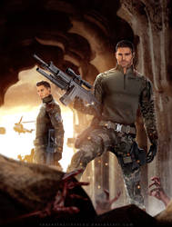 BSAA Heroes - Nivanfield by LitoPerezito