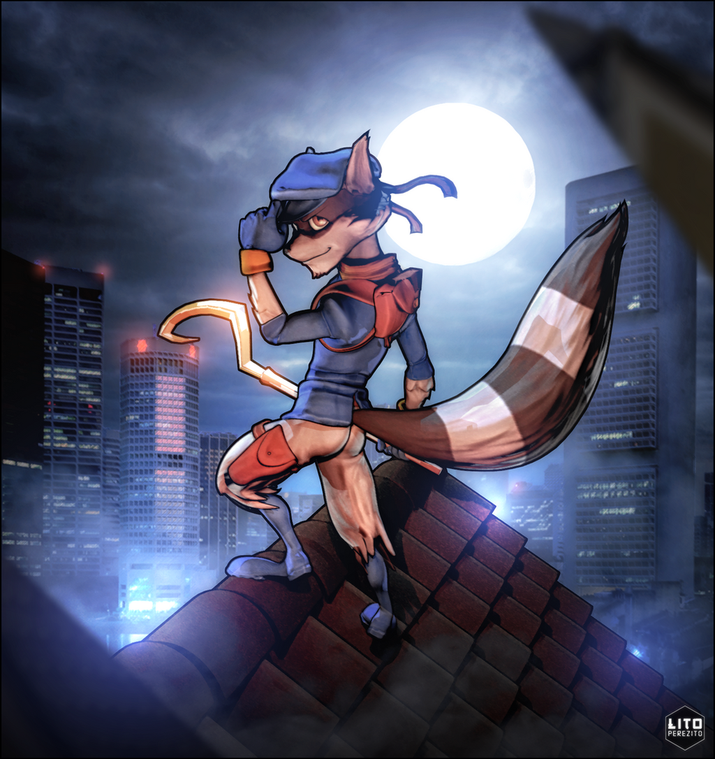 Sly Cooper by LitoPerezito