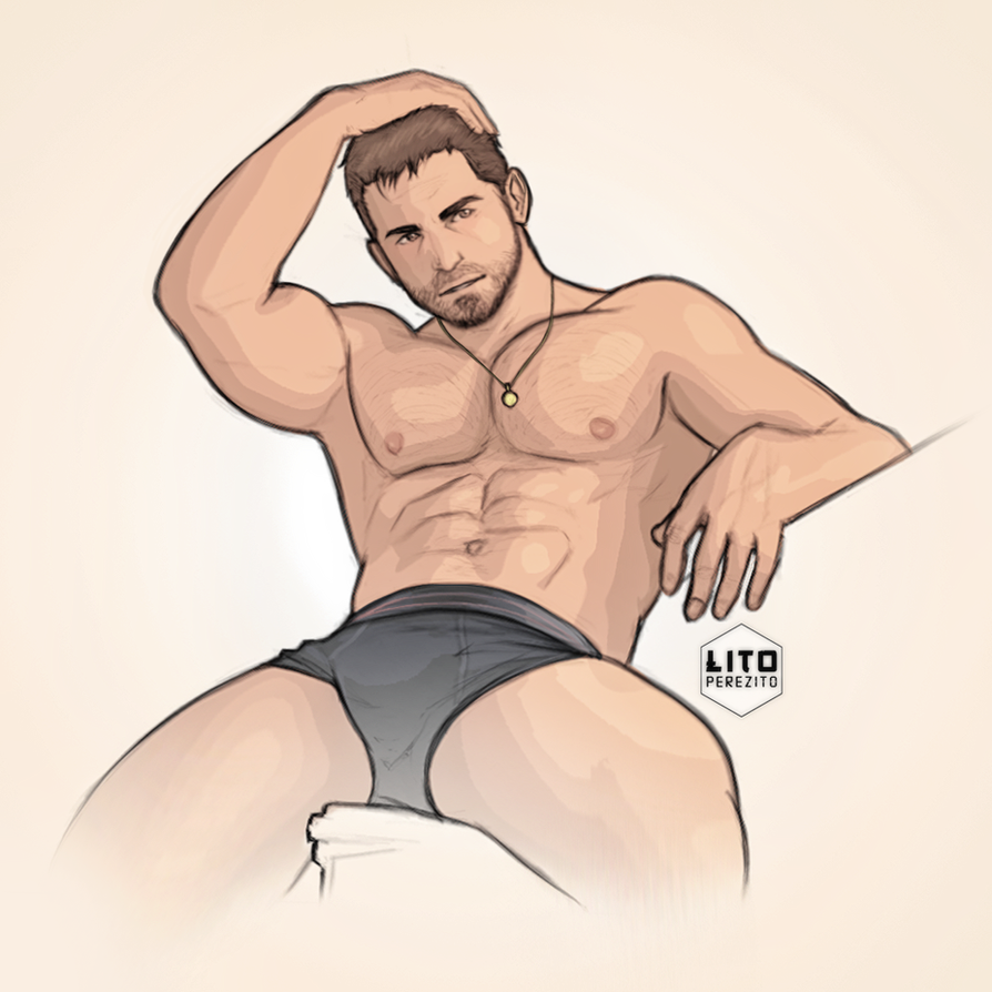 Chris Redfield by LitoPerezito
