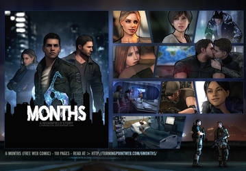 6 Months (web-comic) - Release by LitoPerezito