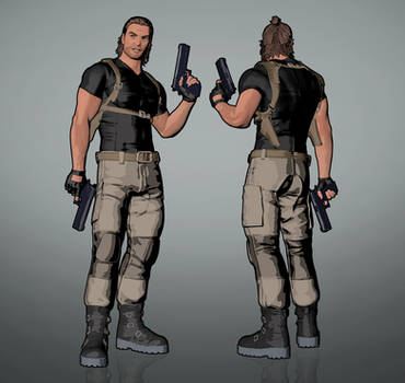 Fear Effect Inferno - Royce Glas Redesigned by LitoPerezito