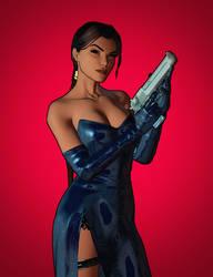 Simple Lara Croft Render 2 by LitoPerezito
