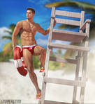 Resident Evil Lifeguards - Piers Nivans by LitoPerezito