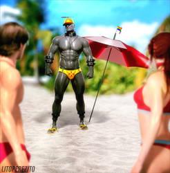 Resident Evil Lifeguards - MR.X