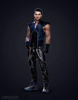 Mass Effect's Kaidan Alenko Fan Made Costume