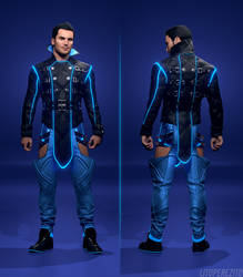 Mass Effect - Party Kaidan Outfit