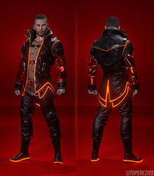 Mass Effect - Party Shepard Outfit