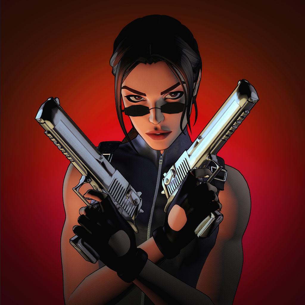 Simple Lara Croft Render 5