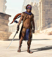 The Prince of Persia with a little less clothing!