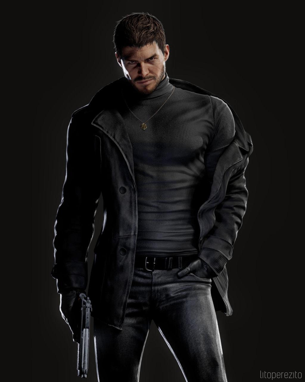 Resident Evil 8 Chris 1 By Litoperezito On Deviantart